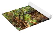 Cabin In The Woods Yoga Mat
