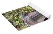 Camouflaged Car Yoga Mat