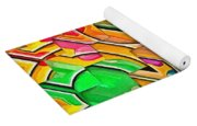 Candy - Lolly Pop Abstract  Yoga Mat