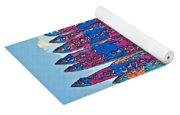 Candy Shoppe Line Art Yoga Mat