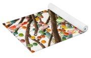 Candy Tree Yoga Mat
