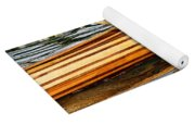 Canoe Lines And Reflections Yoga Mat