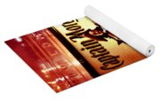 Captain Morgan Red Toned Yoga Mat