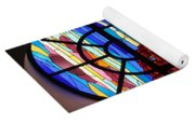 Caribbean Stained Glass  Yoga Mat