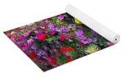 Carnival Flowers Yoga Mat