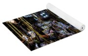 Carousel At Night Yoga Mat