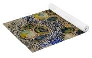Casa Batllo Tiles Yoga Mat