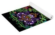 Celtic Fairy Mandala Yoga Mat