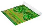 Celtic Irish Clover Home Blessing Yoga Mat