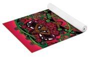 Celtic Summer Fairy Mandala Yoga Mat