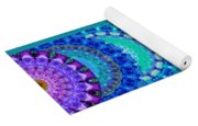 Chakra Mandala Healing Art By Sharon Cummings Yoga Mat