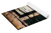 Chicago Brick Facade Grunge Yoga Mat