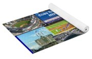 Chicago Cubs Collage Yoga Mat