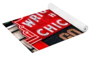 Chicago Cubs Wrigley Field Yoga Mat