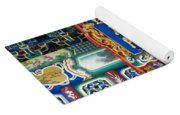Chinese Decor In The Summer Palace Yoga Mat