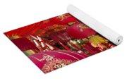 Chinese Red Lanterns Yoga Mat