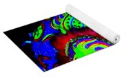 Chinese Tapestry Abstract Yoga Mat