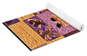 Chocolate Holiday Yoga Mat