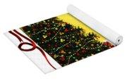 Christmas - Memories - Ribbons - Bows Yoga Mat