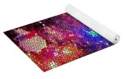 Christmas Stained Glass  Yoga Mat