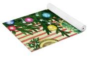 Christmas Tea Yoga Mat