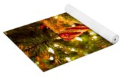 Christmas Tree Background Yoga Mat