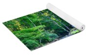 Church In The Mountains By The River Yoga Mat
