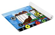 Circus Train Yoga Mat