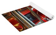 Classic Cadillac Beauty In Red Yoga Mat