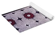Close Up Of Colorful Khangas For Sale Yoga Mat