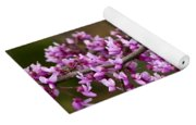 Close-up Of Redbud Tree Blossoms Yoga Mat