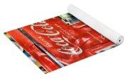 Coca-cola Retro Style Yoga Mat