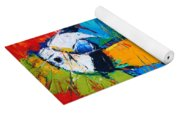 Coco The Talkative Parrot Yoga Mat