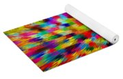 Color Explosion I Yoga Mat