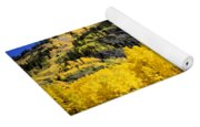 Colorado Autumn Hike Yoga Mat