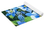 Colorado Columbines Yoga Mat