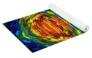 Colorful Abstract Art - Parallels - By Sharon Cummings  Yoga Mat