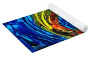 Colorful Abstract Art - Purrfection - By Sharon Cummings Yoga Mat