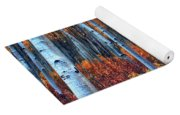 Colorful Aspens Yoga Mat