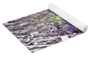 Colorful Wood Burl Yoga Mat