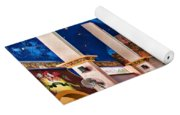 Colorful Church Yoga Mat