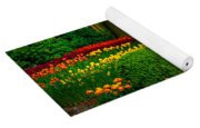 Colorful Corner Of The Keukenhof Garden 4. Tulips Display. Netherlands Yoga Mat