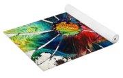 Colorful Daisy Art - Hip Daisies - By Sharon Cummings Yoga Mat