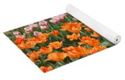 Colorful Flower Bed Yoga Mat
