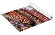 Colorful Indian Corn Yoga Mat