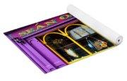 Colorful Irish Pub Yoga Mat