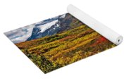 Colorful Land - Alaska Yoga Mat