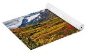 Colorful Land - Alaska Yoga Mat