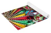 Colorful Ornaments Yoga Mat