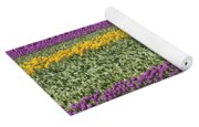 colorful tulips in Holland Yoga Mat